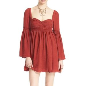 FREE PEOPLE DUCHESS SILK PARTY DRESS SIZE 2